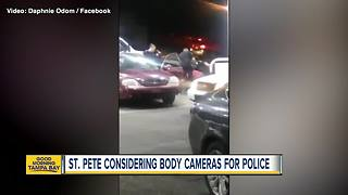 St. Pete considering body cameras for police - Video