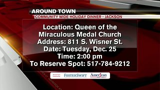 Around Town 12/24/18: Community Wide Holiday Dinner
