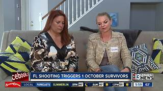 Florida shooting triggers 1 October survivors - Video