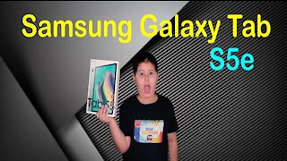 Samsung Galaxy Tab S5e Unboxing & Full Review