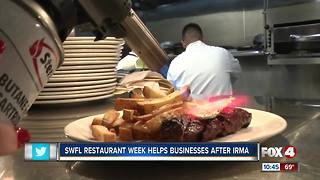 SWFL Restaurant Week Helps Businesses Recover After Irma - Video