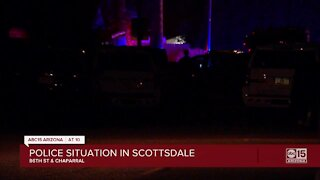 Scottsdale police working barricade, shooting situation near 86th Street and Chaparral
