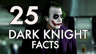 25 DARK KNIGHT Trilogy Facts You Should Know - Video