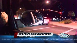 Tucson police department increases dui enforcement - Video