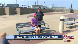 Riverfront development on the minds of Omaha-Council Bluffs officials 5pm - Video