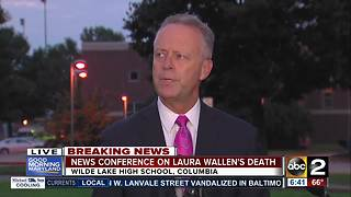 Superintendent holds news conference on Laura Wallen's murder - Video