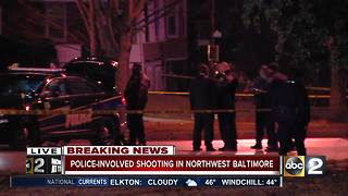 Officer-involved shooting in Northwest Baltimore