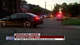 Suspect in custody in Detroit quadruple shooting, victims recovering - Video