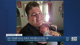 Valley 20-year-old loses battle with COVID-19