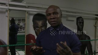 Eubank Sr demands referees 'protect' son's opponents - Video