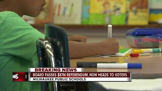 $87 million referendum for Milwaukee Public Schools passes school board, heading to April ballot