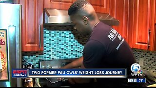 Two Former FAU Owls' Weight Loss Journey