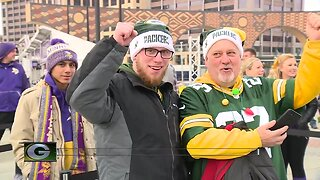 Packers fans excited for face-off with Vikings