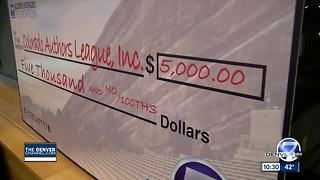 Colorado Book Festival kick-off check presentation - Video