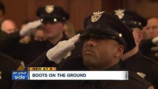Cleveland police hiring multitude of officers - Video