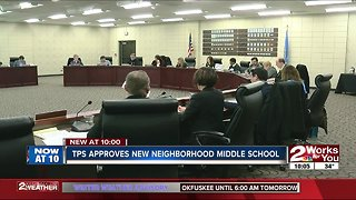 TPS approves new neighborhood middle school