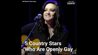5 Country Stars Who Are Openly Gay
