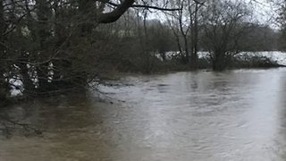 River Bursts Its Banks in South Wales - Video