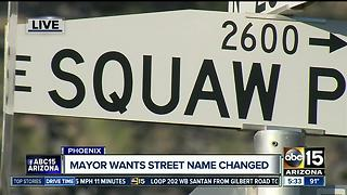 Homeowners want to keep Squaw Peak name - Video