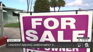 Amendment 5 could impact 300,000 Palm Beach County property owners