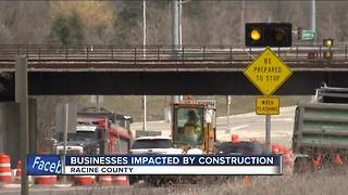 Racine Co. businesses react to Foxconn road construction