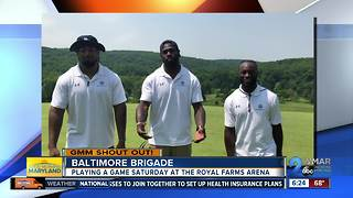 Good morning from the Baltimore Brigade! - Video