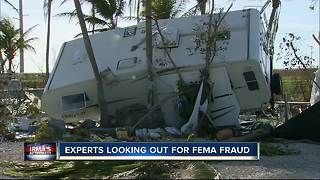 Experts looking out for FEMA fraud - Video