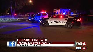 Fort Myers Police investigating homicide - Video