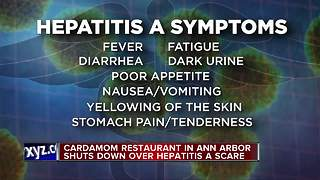 Hepatitis A found in one worker at Ann Arbor restaurant - Video