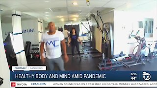 Fitness expert isn't letting pandemic stop him from helping students and teachers
