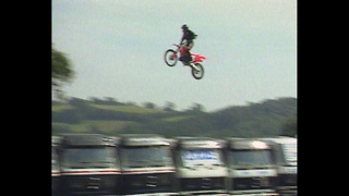 World Record Bike Jump Attempt - Video