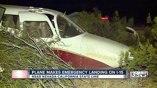 Plane makes emergency landing Nov. 17 - Video