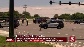 Suspect Killed In Officer-Involved Shooting - Video