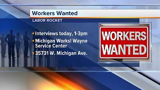 Workers Wanted: Labor Rocket - Video