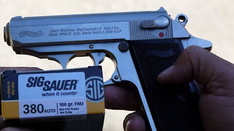 Walther PPK/S .380 pistol review