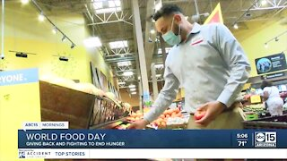 World Food Day: Giving back and fighting to end hunger
