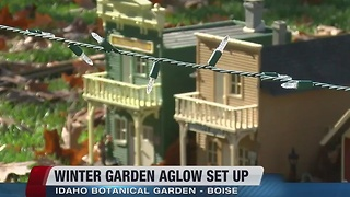 Winter Garden Aglow set to open on Thanksgiving - Video