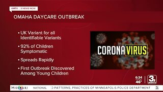 92% of children symptomatic with UK variant after daycare outbreak, county health department says