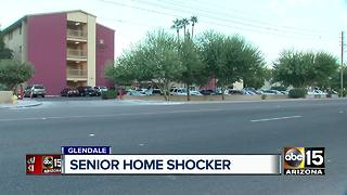 Senior living home facility nurse caught mocking patient in Glendale - Video