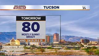 Chief Meteorologist Erin Christiansen's KGUN 9 Forecast Friday, February 9, 2018