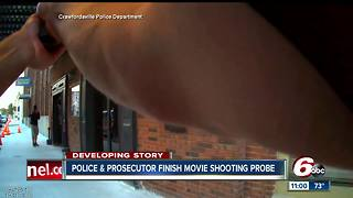 Body cam video shows officer shooting at actor he thought was a robbery suspect - Video