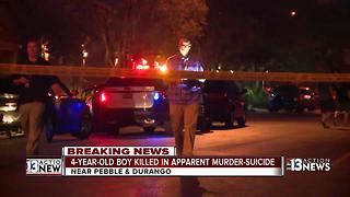 Police: 4-year-old killed in apparent murder-suicide - Video