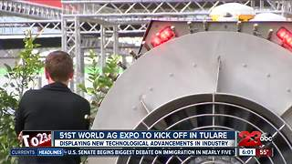 World Ag Expo set to kick off Tuesday - Video