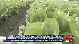 CDC issues warning of E Coli romaine lettuce outbreak