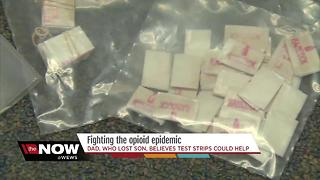Fighting the opioid crisis: Fentanyl test strips - Video