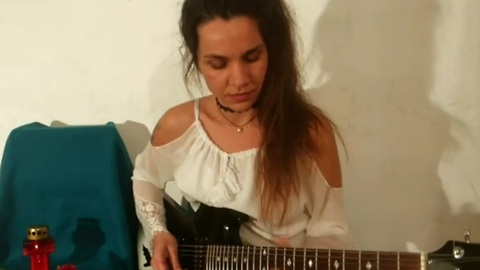 Guitarist Eva Vergilova's epic 'Godfather' theme song cover