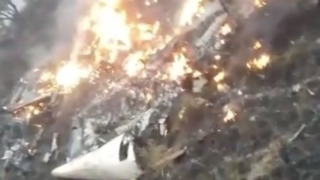 Passenger Aircraft Crashes in Pakistan's Abbottabad District - Video