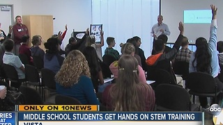 Vista students learn about jobs of the future - Video