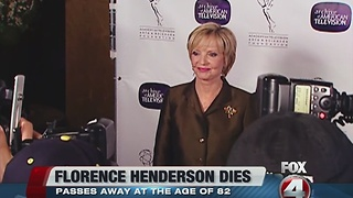 Brady bunch mother, Florence Henderson dead - Video