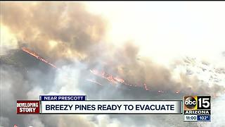 Goodwin Fire burns 4,399 acres in Prescott National Forest